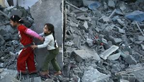 citations by questia palestinian girls run away after an i air strike on a house in the northern gaza