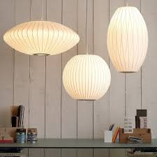 architecture sweet inspiration george nelson lamps bubble lamp cigar hivemodern com from homey ideas george