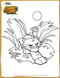 Small Picture Animal Jam Tiger Coloring Page K bug posts Pinterest Animal