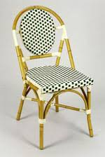 wicker bistro chairs. Unique Bistro Green Ivoyr French Bistro Aluminum Rattan Chair To Wicker Chairs O
