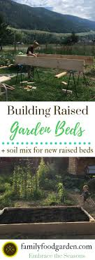 do you have raised vegetable garden beds how did you make yours do you have a fav soil mix