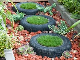 Small Picture Creative Gardening Tips Plant Container From Old Car Tires