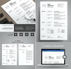 Minimalist Resume Template Word Free Best Of Free Minimalist Resume Template Elegant Modern Templates Freebies