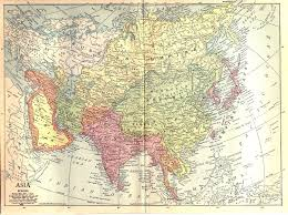 World Map Europe And Asia Historical Map Of Asia Asia In Year 1914 Nations Online Project