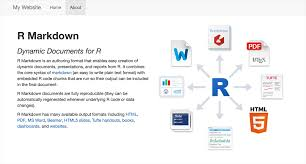 R Markdown Websites