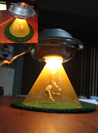 Ufo Cow Abduction Lamp Projects In 2019 Cool Lamps Lamp Design