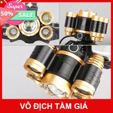 Bản Mới, Bóng To Sáng Hơn ] Đèn Pin Đội Đầu 5 Mắt Siêu Sáng, Đèn Pin Siêu  Sáng rẻ như bán sỉ 100% mua ngay giảm giá 50 giá cạnh tranh