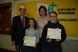vfw patriot s penn essay contest winners recognized times news  gail maholick times news winners of the vfw patriot s pen essay contest were presented awards