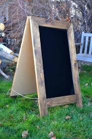image 0 a frame chalkboard sign diy rustic sandwich