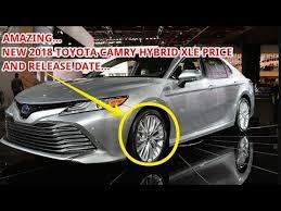 2018 toyota xle camry. beautiful toyota new 2018 toyota camry hybrid xle price in toyota xle camry