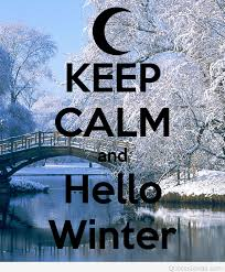 keep calm and hello winter picture wallpaper
