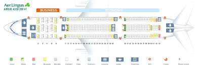 Boeing 332 Seating Chart