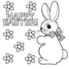 These easter bunny coloring sheets are cute and adorable and will bring a smile to your kid's face as he will have the liberty to use a range of bright hues for all the pictures. 10 Places For Free Easter Bunny Coloring Pages