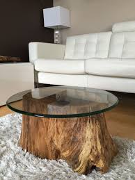 livingroom coffee tables trunk table reclaimed wood stump astounding base diy round natural solid