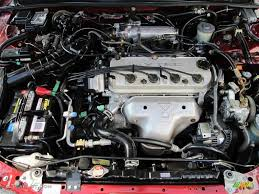 1995 Honda Accord EX Sedan 2.2 Liter SOHC 16-Valve 4 Cylinder ...