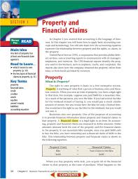 51 key terms property financial claim credit creditor assets equities owner s equity liabilities accounting