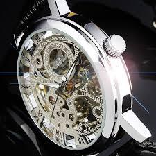 aliexpress com buy 2013 hot silver see through skeleton dial men 2013 hot silver see through skeleton dial men women mechanical wrist watch lucky family