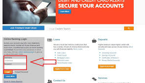 firstmark credit union banking login