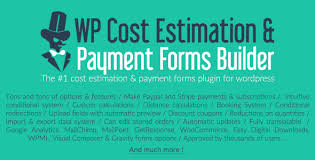Estimate Request Form Extraordinary WP Cost Estimation Payment Forms Builder By Loopus CodeCanyon