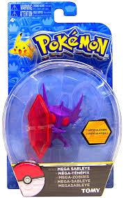 Pokemon XY Mega Sableye Figure, 3 X 2.5 inches - Walmart.com - Walmart.com