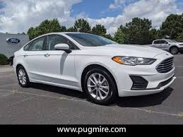 used 2020 ford fusion se fwd car for