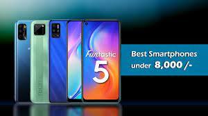 Best Mobiles under 8000 in August 2020 - Top Smartphones under 8000 in  India - YouTube