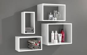 mounted cupboard floating ideas countertop recessed bathroom shelves units tub cabinet white glass shelf unit chrome