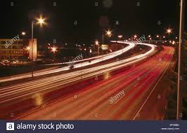 Portland Red Light Interstate 5 L 5 In Portland As Seen From A Bridge With