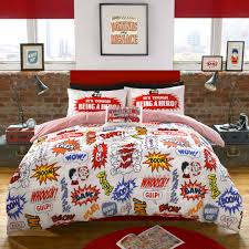 Beano bedding by Ashley Wilde using graphics from Beano Since 1938 Style  Guide - highlights great
