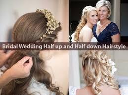 Wedding Half Up Hairstyles Best Bridal Wedding Half Up And Half Down Hairstyle Hairstyle