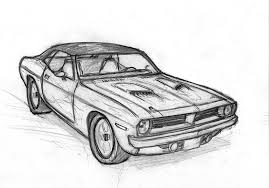 muscle cars drawings.  Cars Muscle Car Sketch By Leovictor  On Cars Drawings
