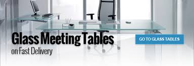 furniture office space. Glass Meeting Tables On Fast Delivery Furniture Office Space