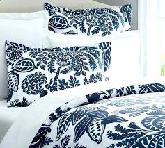 blue and white striped bedding sets rae duvet cover sham pottery barn in navy and white