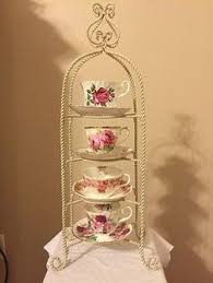 Tea Cup And Saucer Display Stand teacup saucer stand Google Search Kitchen Pinterest Teacup 61