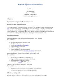 cover letter mail room supervisor resume mailroom manager resume cover letter example of supervisor resume mailroom example pagemail room supervisor resume extra medium size