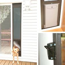 french doors with dog door built in patio pet sliding glass cost solutions for french doors with dog