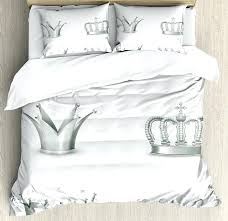 silver bedding sets queen interesting sequins king