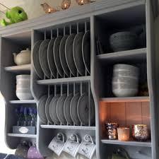 wooden plate racks for kitchens