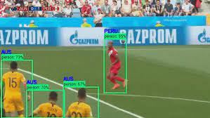 Multiple object detection example
