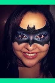 my version of a bat mask makeup jenny