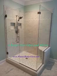 frameless glass shower doors. Frameless Glass Shower Door And Panel Doors Virginia
