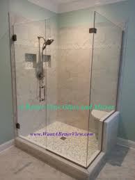 frameless shower doors virginia