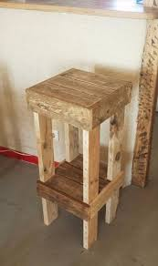 diy barstools diy reclaimed pallet stools easy and ideas for seating and creative