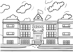 Small Picture Printable school house coloring page Free PDF download at http
