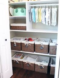 Storage & Organization: Under Nursery Organization Ideas - Nursery Decor