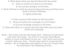 The key word outline has completely transformed writing for our family. Ppt 3 Write Down What You Learned About This Key Word Draw An Outline Of A Box On An A4 Sheet Powerpoint Presentation Id 2056156
