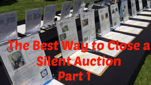 What Is Silent Auction Plan A Silent Auction Best Way To Close A Silent Auction Part 1