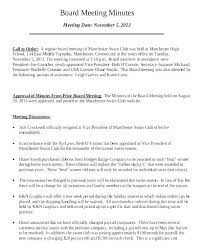 Writing Meeting Minutes Template Vitaminac Info