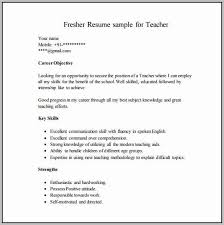 Resume Format For Freshers Free Download Latest Doc Resume