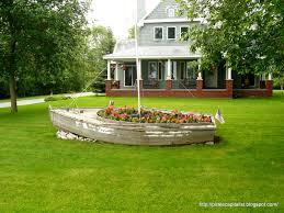 boat planter boat garden planter boat shapes painting flower pots